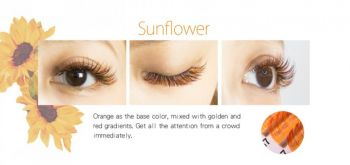 Farbwimpern luxury Flora-Eyeshadow