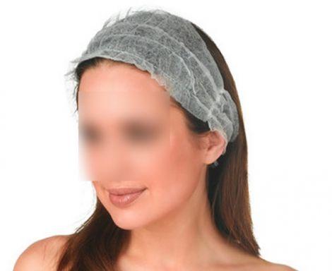 Einweg Kosmetik-Haarband (100 Stück)