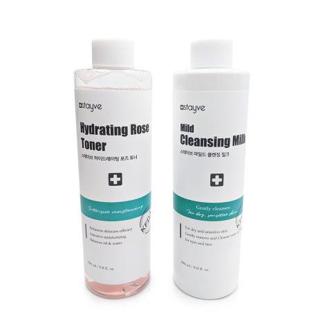 Sparset - Stayve Milde Reinigungsmilch & Hydrating Rose Toner