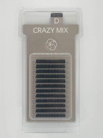 Crazy Mix (D  CURL / 11-13 mm) schwarz
