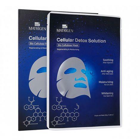 Matrigen Cellular Detox Solution Gesichtsmaske